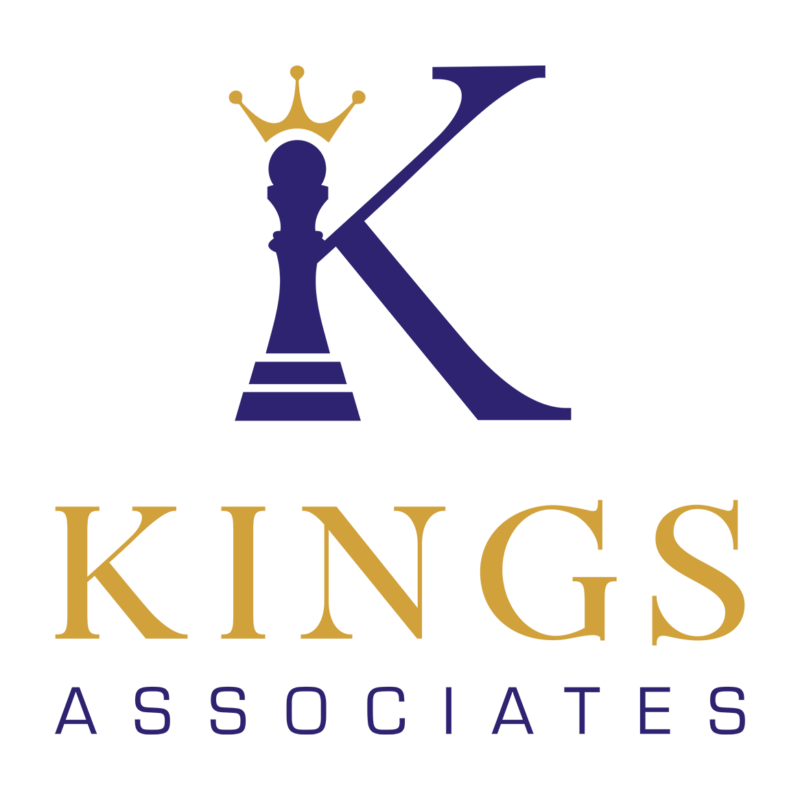 Kings Associates logo blue gold 01 2 e1603110590484
